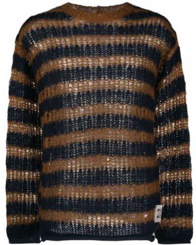 Niebieski sweter w paski Kenzo