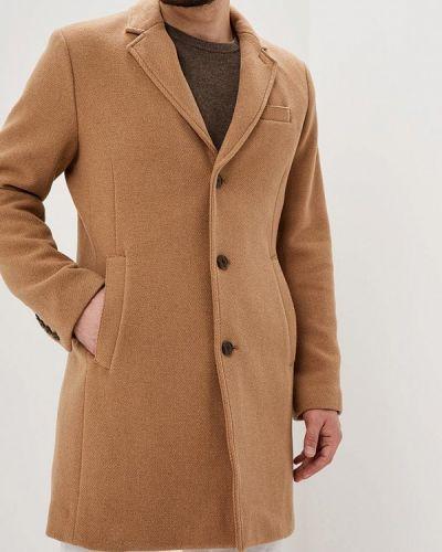 Бежевое пальто осеннее Gap