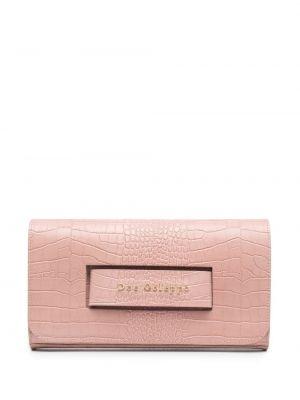 Złota kopertówka - różowa Dee Ocleppo