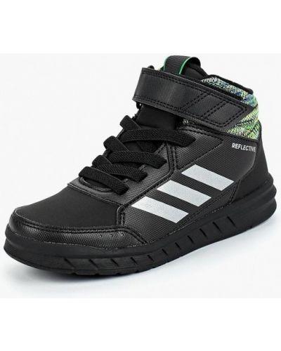 Черные кеды резиновые Adidas