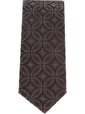 Коричневая шелковая резинка для волос для полных Dolce & Gabbana