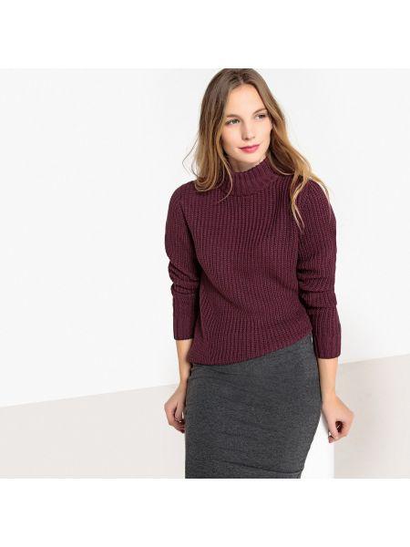 Пуловер с воротником-стойкой акриловый La Redoute Collections