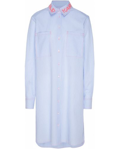 Платье миди платье-рубашка с разрезами по бокам Karl Lagerfeld