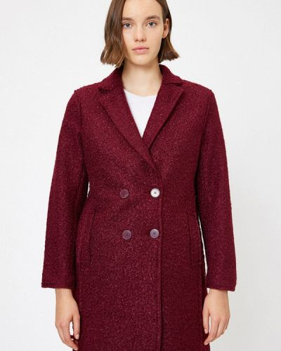 Пальто бордовый пальто Koton