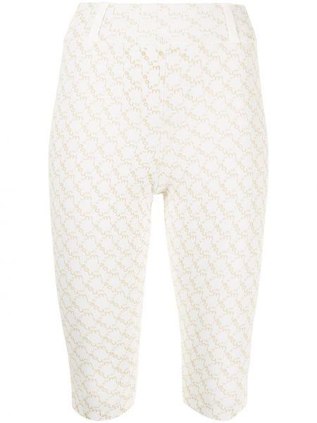 Białe spodnie Miaou