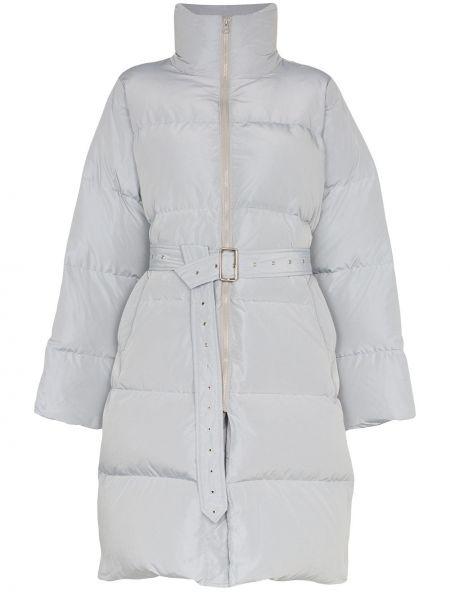 Длинное пальто с капюшоном Blindness