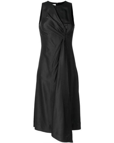 Платье миди с драпировкой из вискозы Cédric Charlier