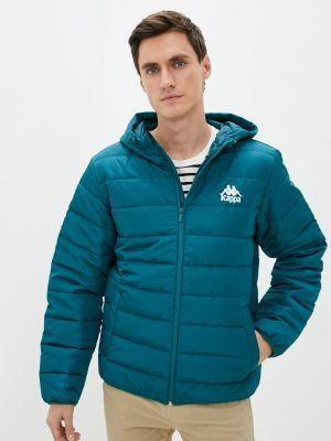 Бирюзовая куртка утепленная Kappa
