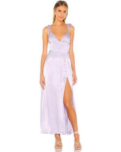 Платье макси винтажное - фиолетовое Privacy Please