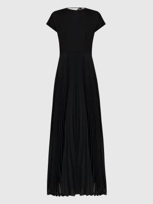 Платье макси - черное Peserico