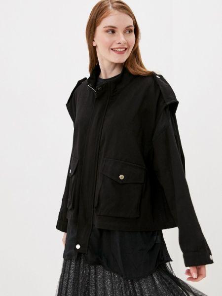 Куртка черная весенняя By Swan