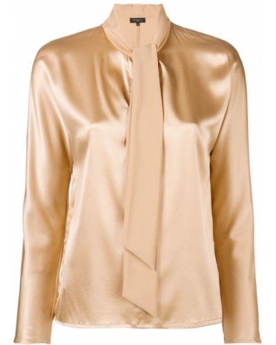 Блузка батник шелковая Antonelli