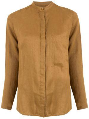 Длинная рубашка - коричневая Osklen