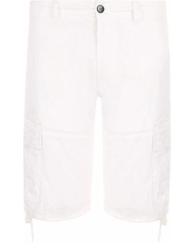 Белые хлопковые шорты C.p. Company