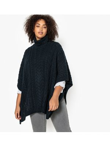 Пуловер с узором длинный Castaluna