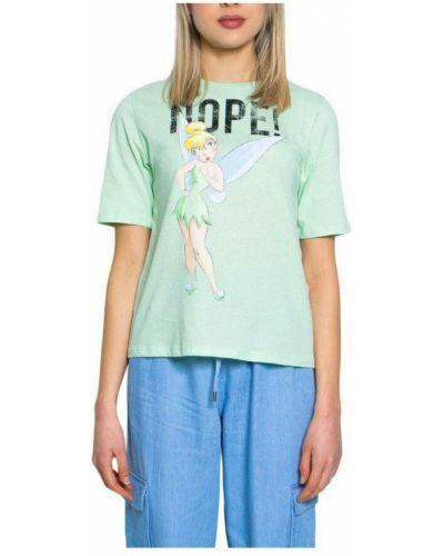 Zielona t-shirt Jacqueline De Yong