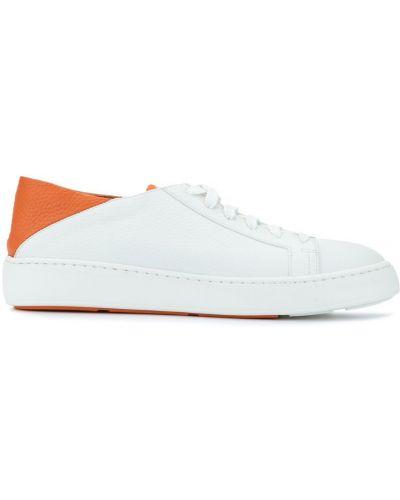 Белые носки Santoni