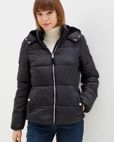 Утепленная куртка - черная Springfield