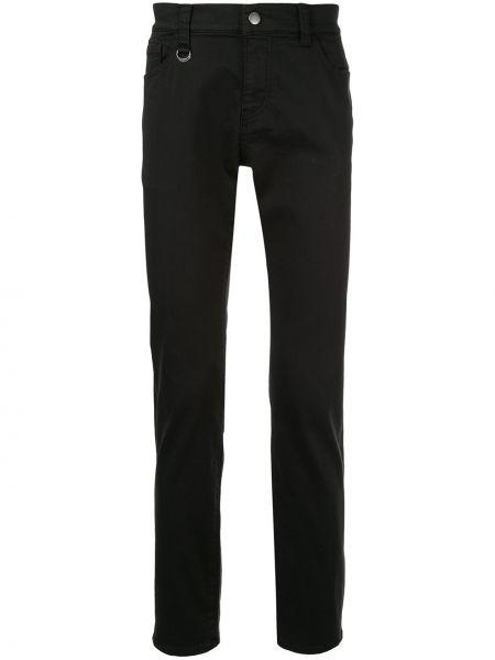 Черные джинсы на пуговицах с карманами Guild Prime