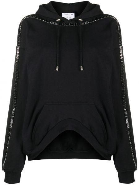 Bluza dresowa - czarna Collina Strada