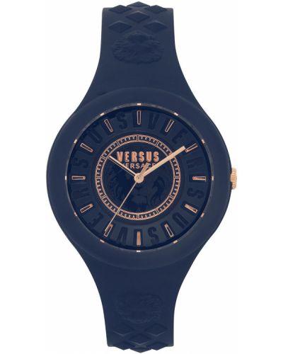 Кварцевые часы водонепроницаемые с круглым циферблатом Versus Versace