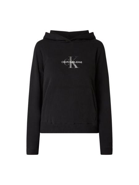 Bawełna bawełna czarny bluzka z kieszeniami Calvin Klein Jeans