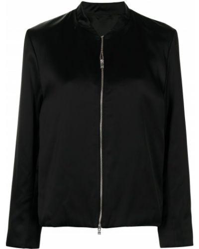 Черная куртка с карманами Toteme