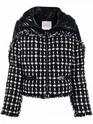 Куртка с капюшоном - черная Moncler