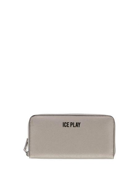 Szary portfel Ice Play