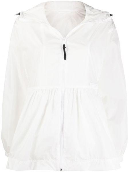 Облегченная белая куртка с манжетами Duvetica