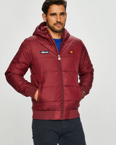 Утепленная куртка с капюшоном прямая Ellesse