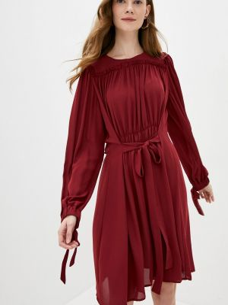 Бордовое платье Cavo