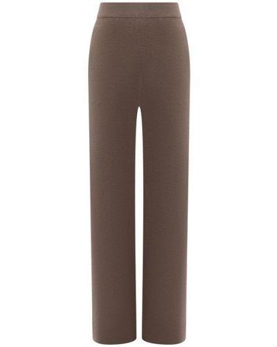 Шерстяные брюки - бежевые Allude