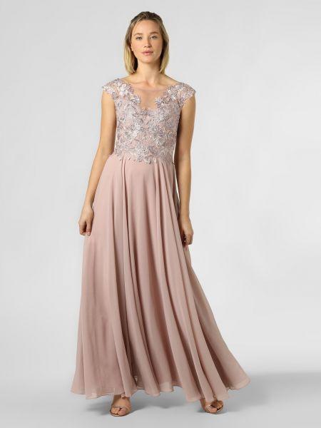 Sukienka wieczorowa, różowy Luxuar Fashion