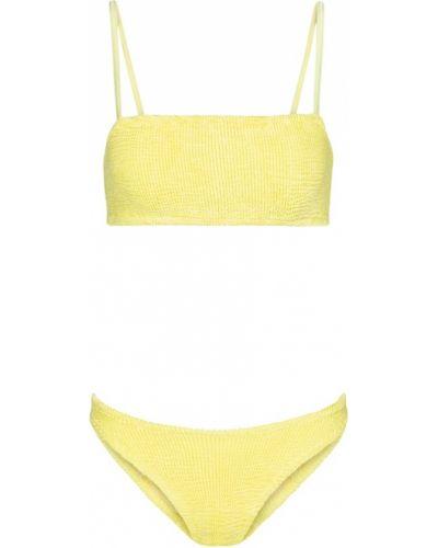 Нейлоновые желтые бикини Hunza G