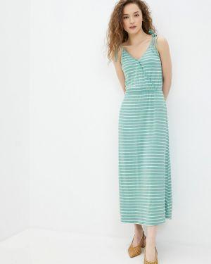 Платье бирюзовый платье-сарафан Ichi