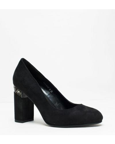 Брендовые черные туфли Stefaniya Nina