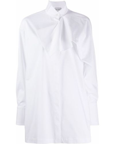 Рубашка с воротником с манжетами с оборками Balossa White Shirt