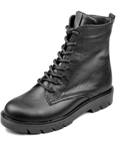 Черные демисезонные ботинки Pandora