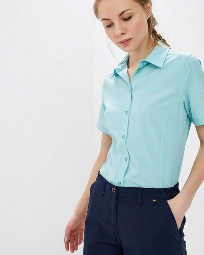 Рубашка с коротким рукавом кожаная Jack Wolfskin
