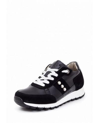 Черные кроссовки на платформе Frivoli