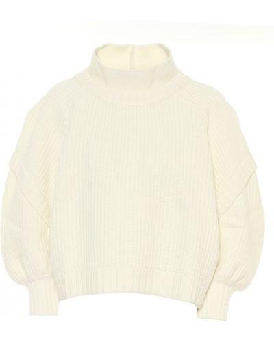 Шерстяной свитер айвори Philosophy Di Lorenzo Serafini
