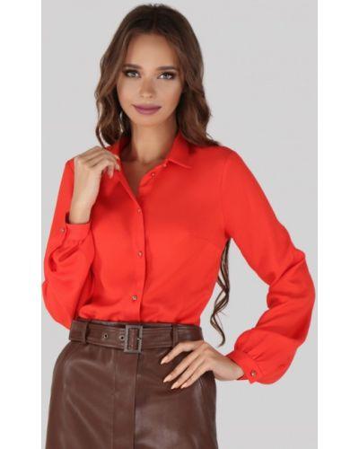 Блузка с длинным рукавом красная Anushka By Anna Pavlova