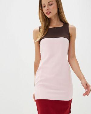 Платье футляр розовое Rivadu