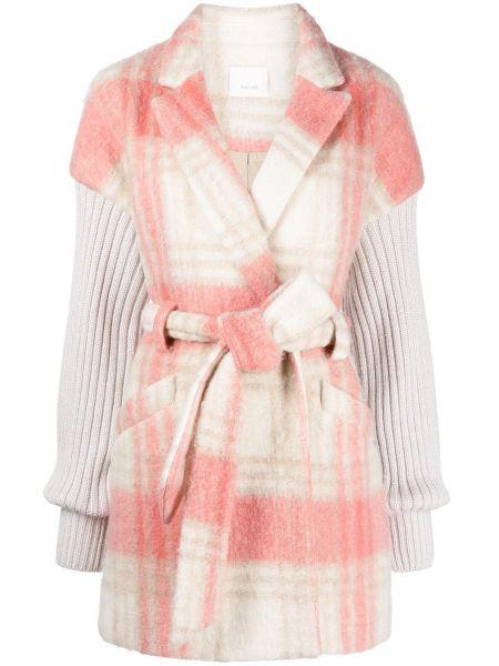 Куртка в клетку - розовая Cinq À Sept