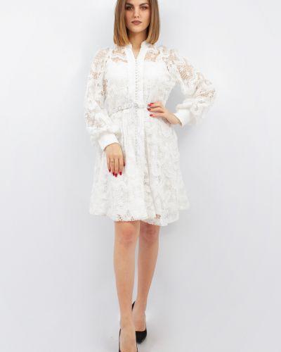 Нарядное платье макси - белое Phardi