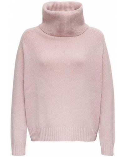 Różowy sweter Allude