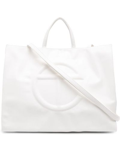 Biała torba na ramię Telfar