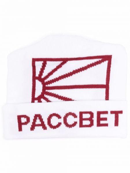 Czapka beanie - biała Paccbet