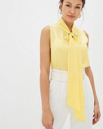 Блузка без рукавов желтый весенний Gepur